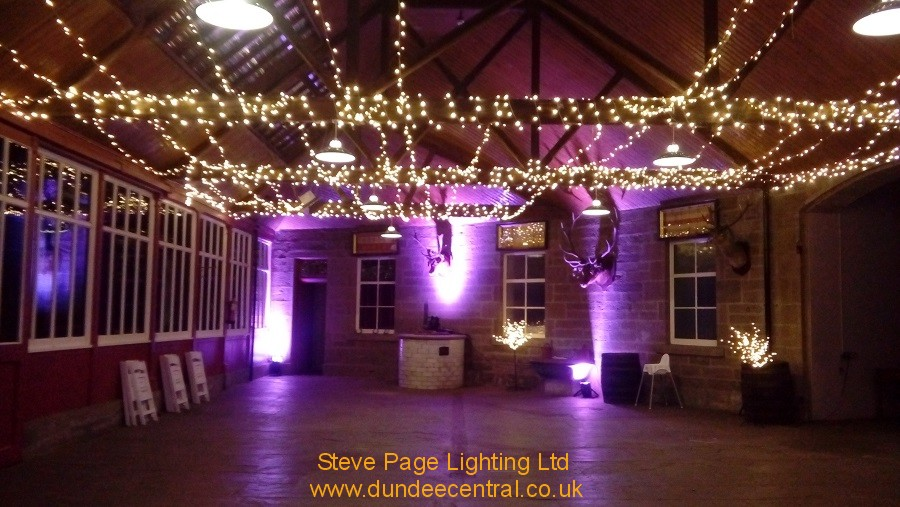 Lighting Hire for Errol Park