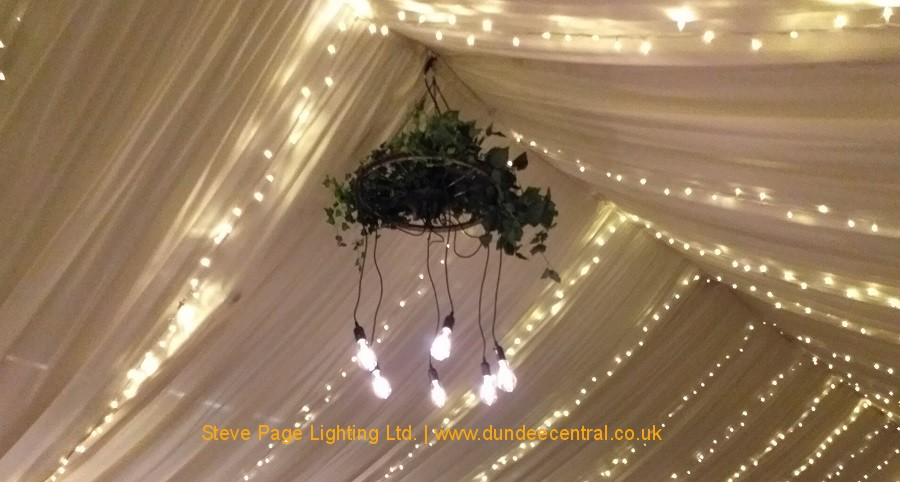 wedding rustic chandelier