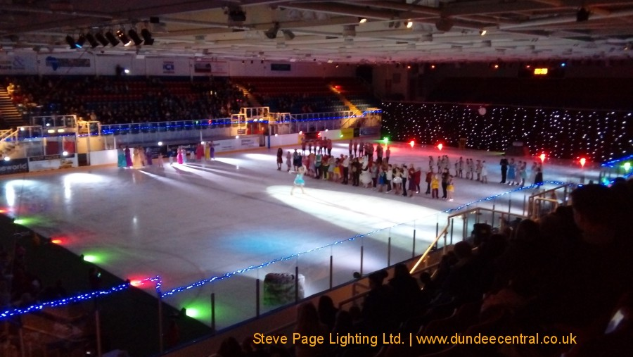 children's show at Dundee Ice Arena