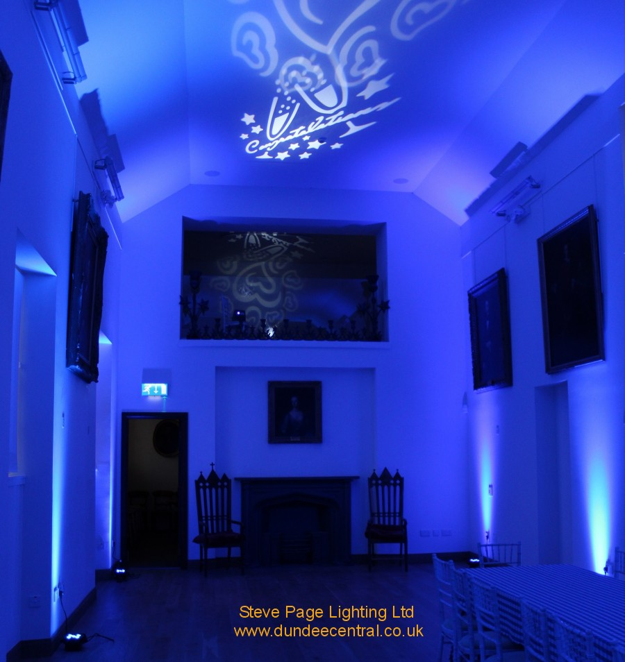 pattern lights hire