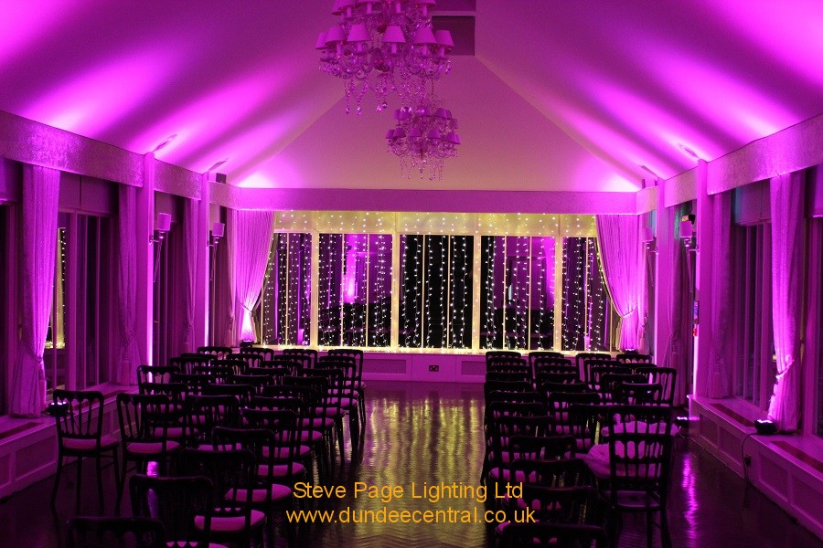 carlowrie event lighting