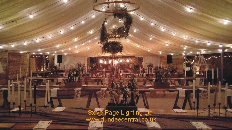 cow shed festoon hire