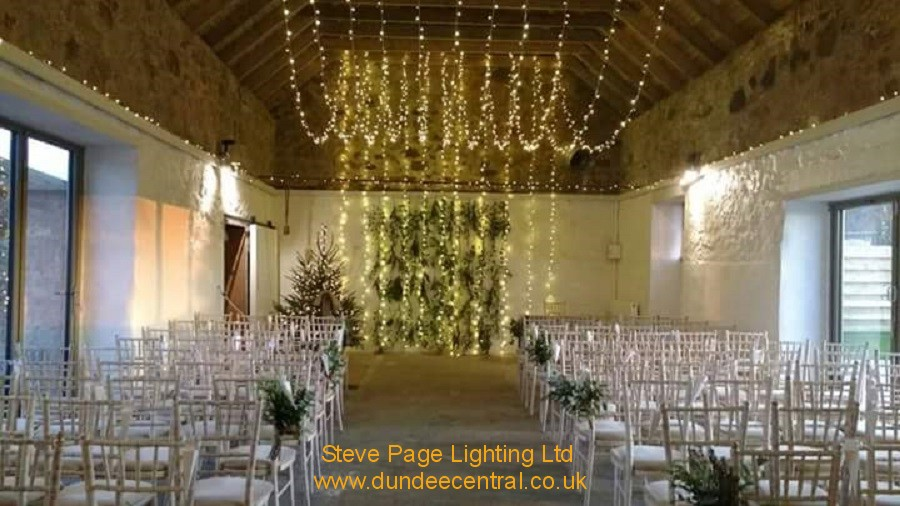 cow shed lighting hire company