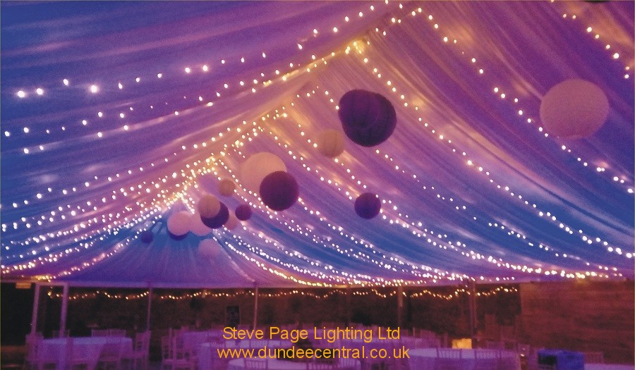 cow shed marquee lanterns