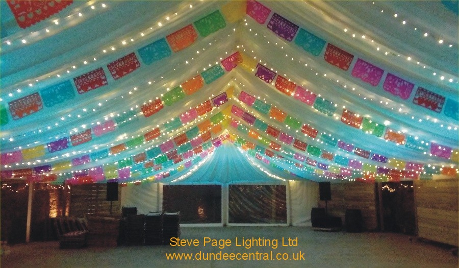 cow shed marquee lights
