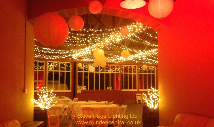 errol park stable lighting hire