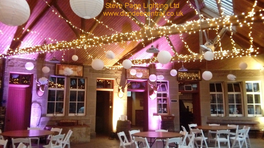 errol park wedding lights